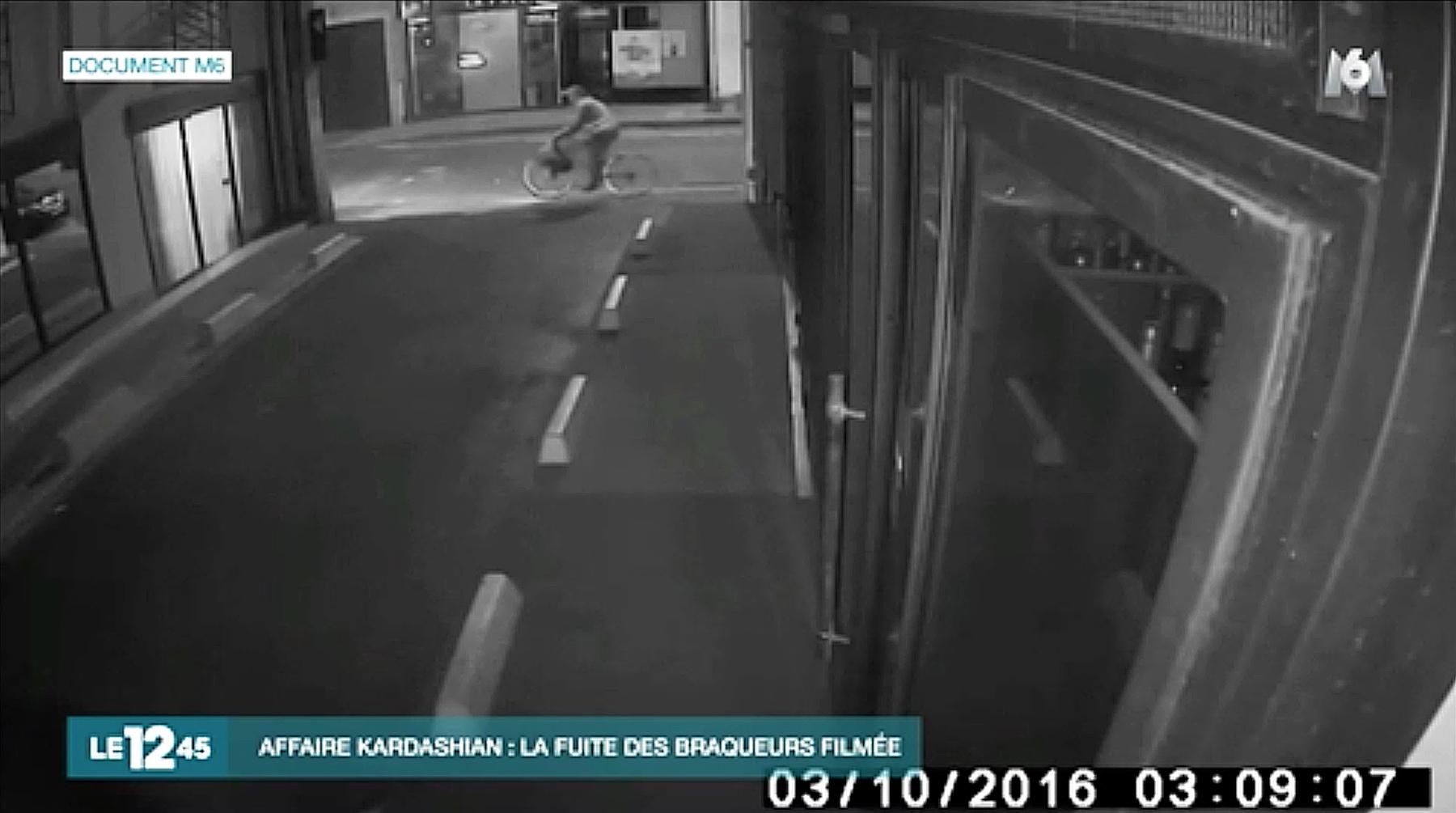 Kim Kardashian Paris robbery footage