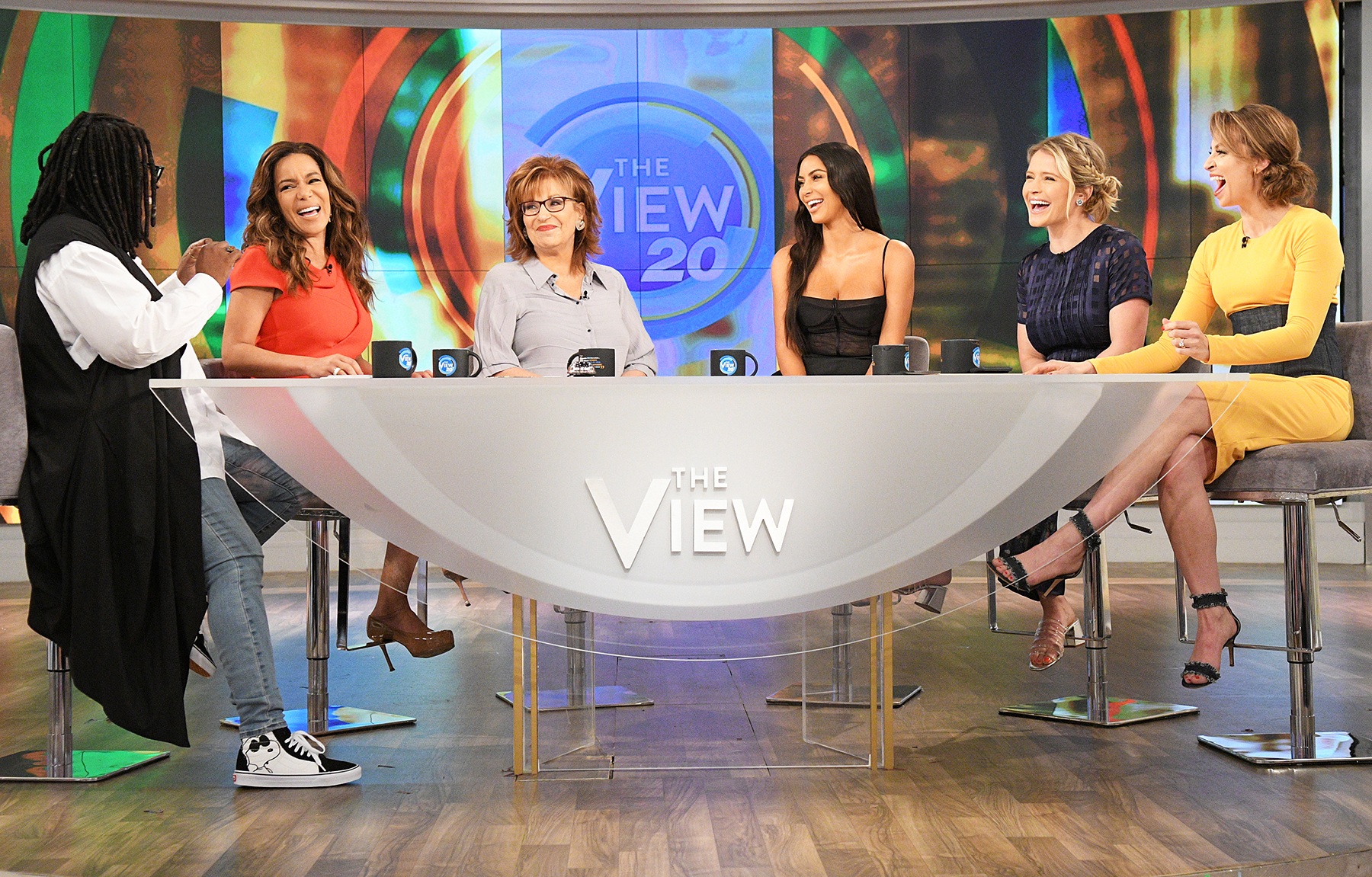 """Kim Kardashian West is the guest, Tuesday, June 20, 2017 on ABC's """"The View."""""""