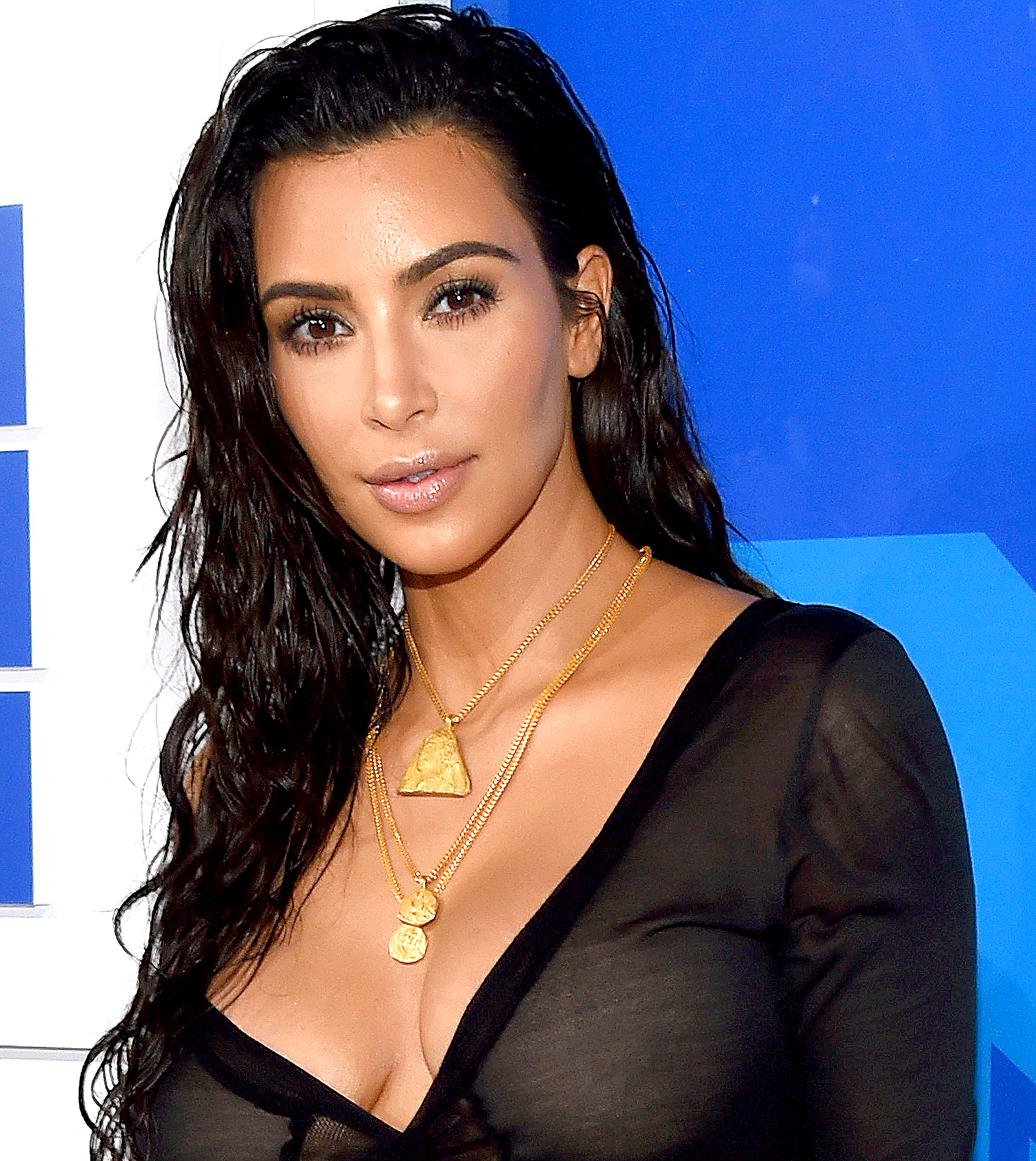 Kim Kardashian attends the 2016 MTV Video Music Awards at Madison Square Garden on August 28, 2016 in New York City.