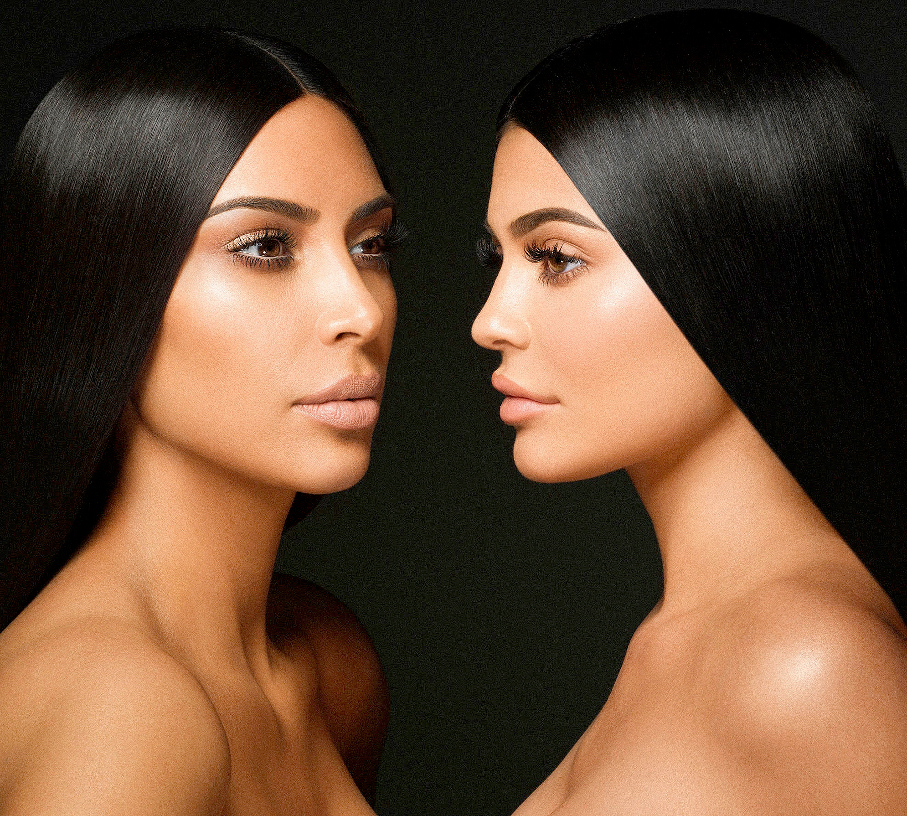 Image result for kim and kylie