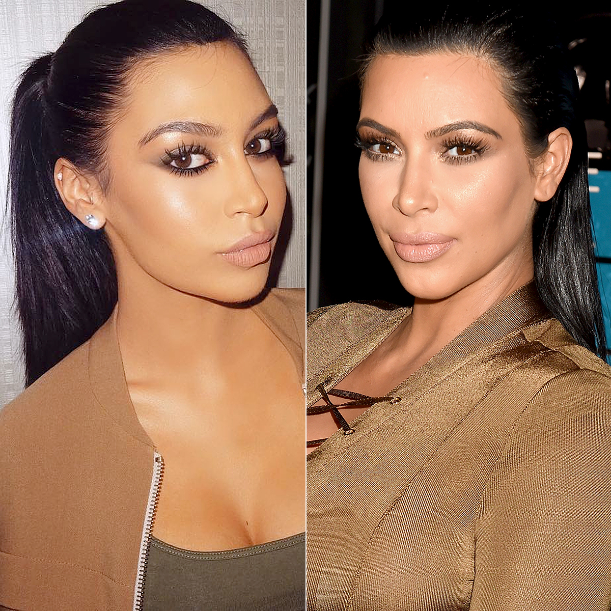 Sonia Ali and Kim Kardashian