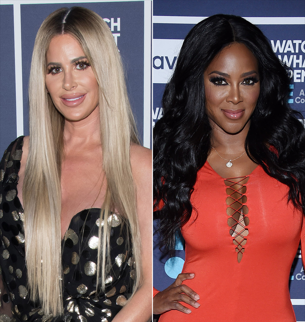 Kim Zolciak and Kenya Moore
