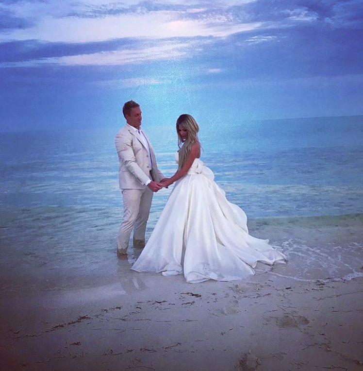 Kim Zolciak Renews Her Wedding Vows With Kroy Biermann: Pics