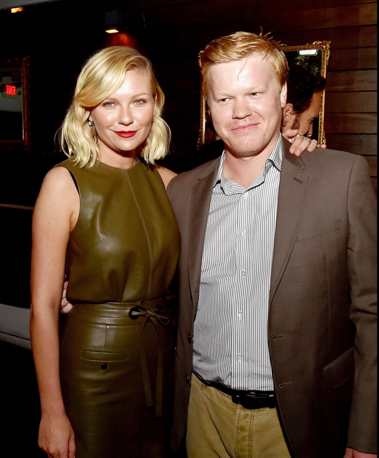 Kirsten Dunst and Jesse Plemons got engaged in January 2017