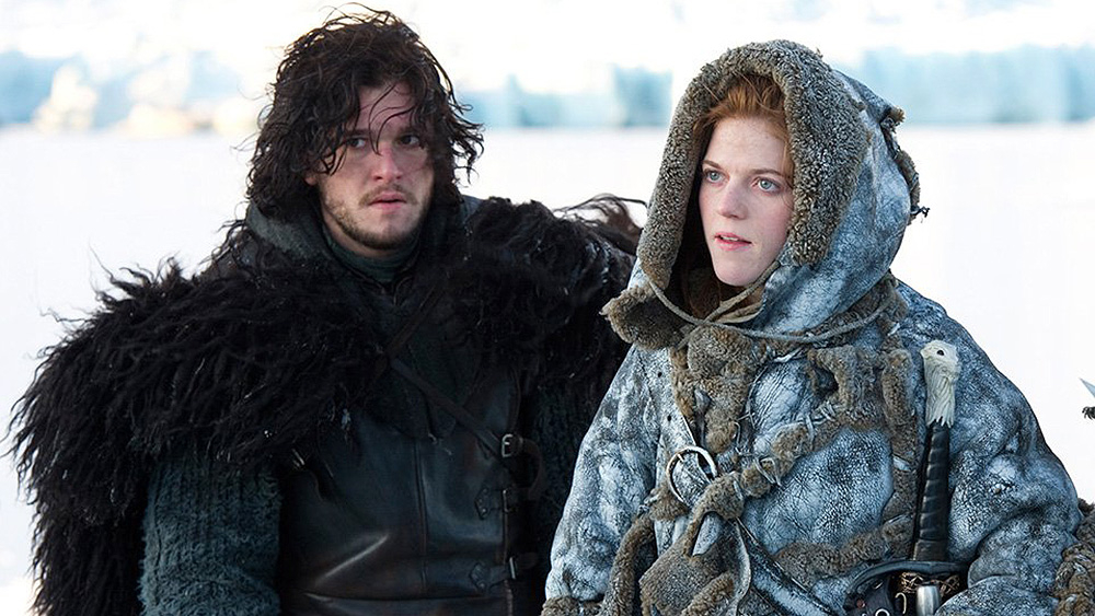 Kit Harington, Rose Leslie, Game of Thrones