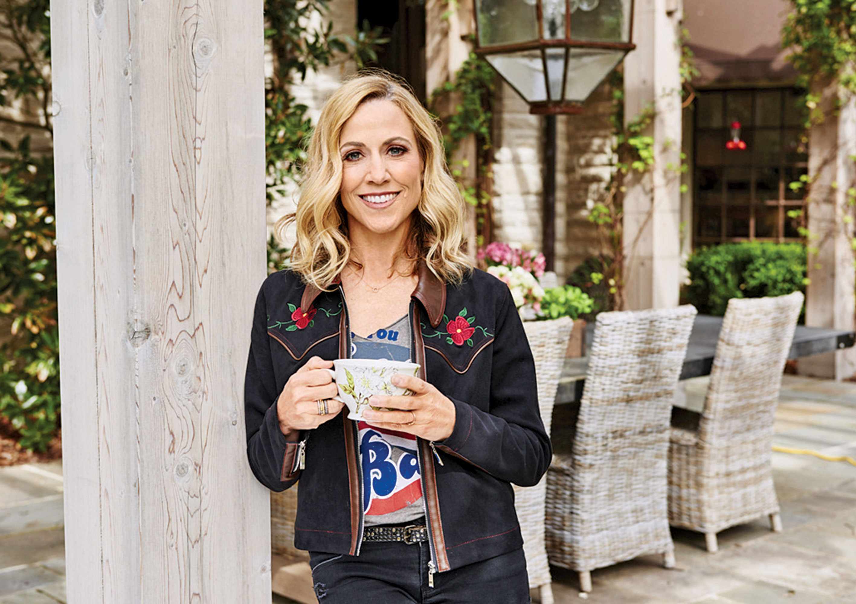 Sheryl Crow Inside My Kitchen house home nashville eat food
