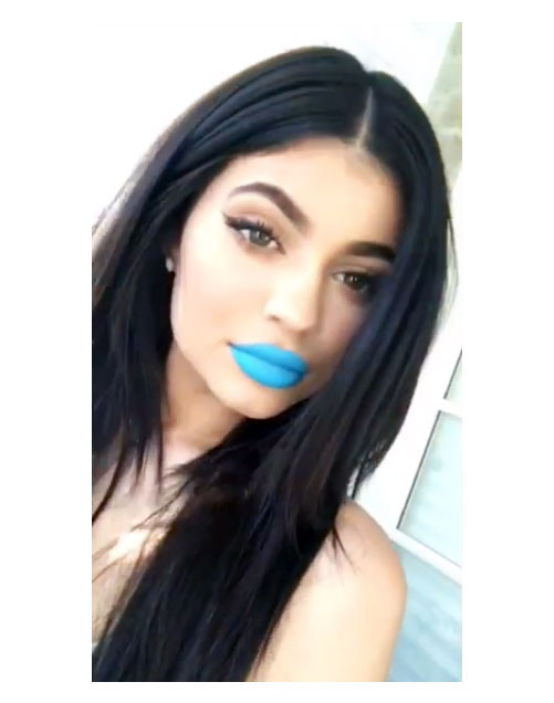 Skylie Lip Kit: Kylie Jenner Releases Two Bold Blue Lip Kits For July 4th