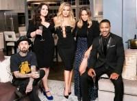 Travis Barker, Lauren Ash, Khloé Kardashian, Tia Mowry-Hardrict and Brian J. White