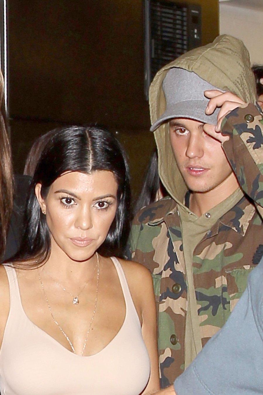 Justin and Kourtney Kardashian