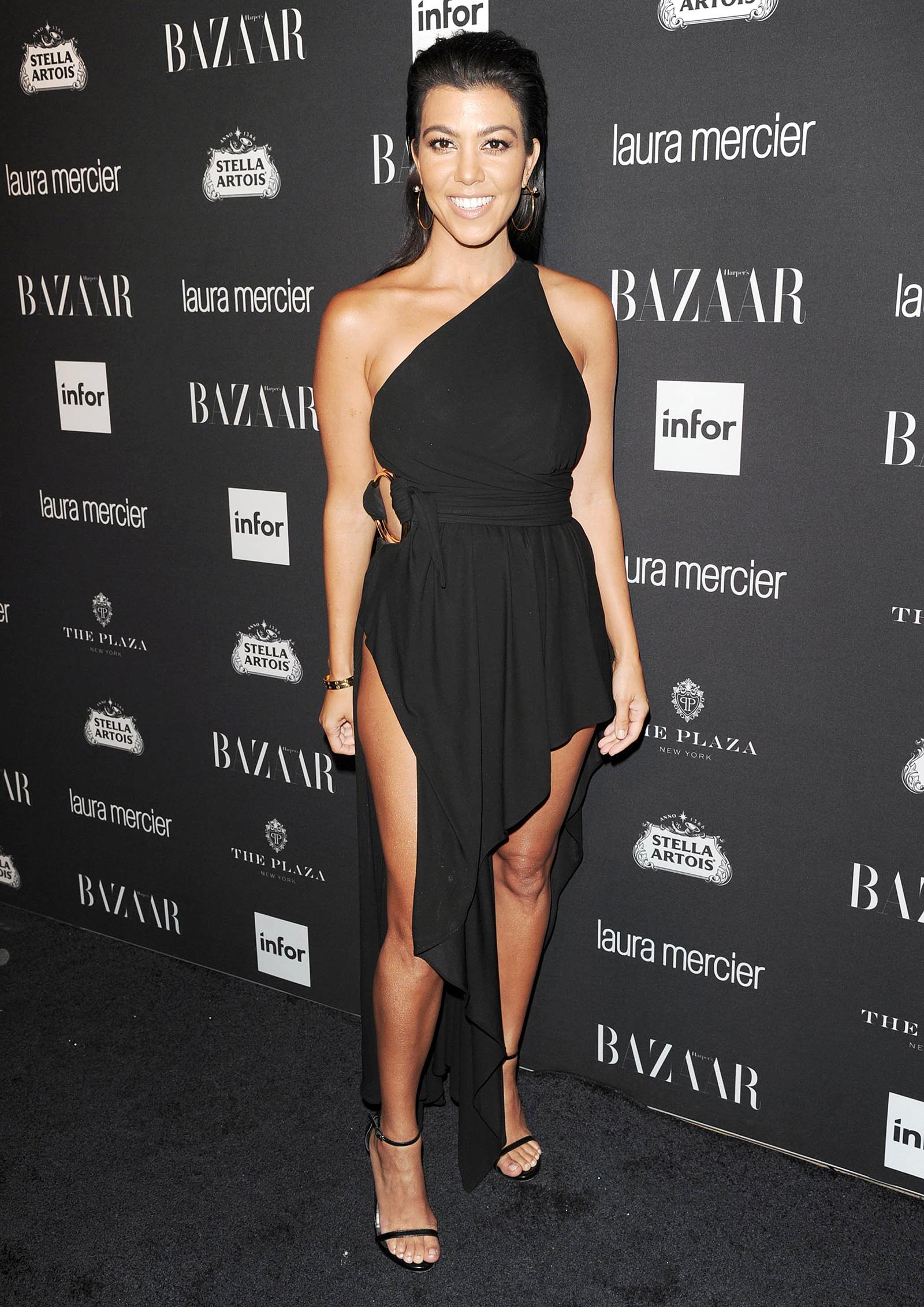 Kourtney Kardashian Black Dresses
