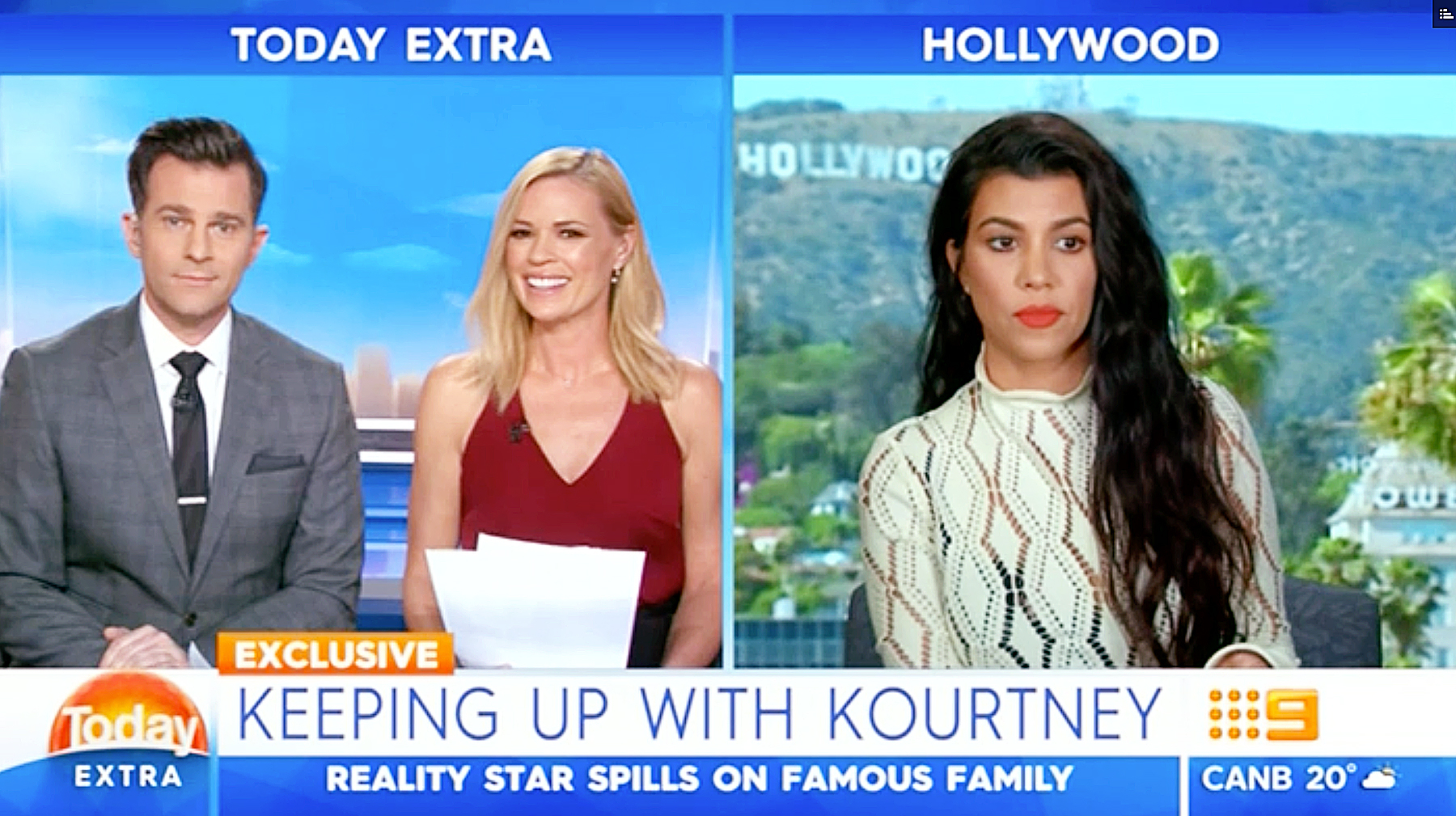 Kourtney Kardashian Today Extra