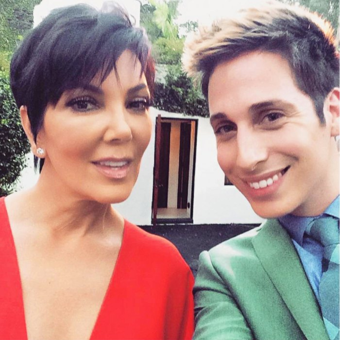 Beyonce, Anthony Pavos and Kris Jenner