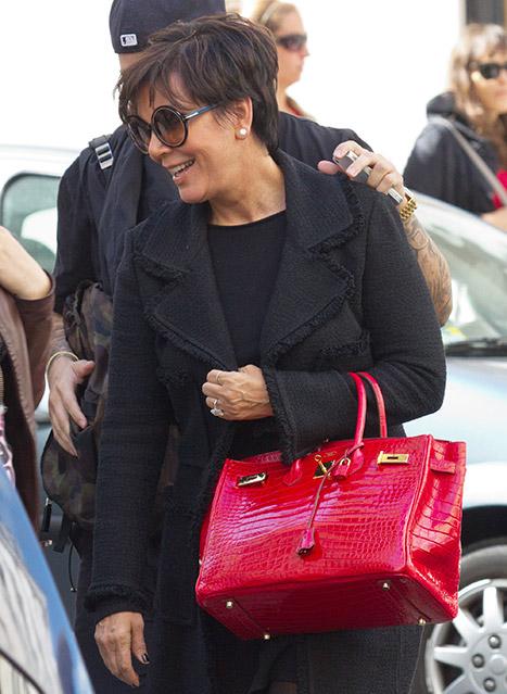 Kris Jenner Birkin bag