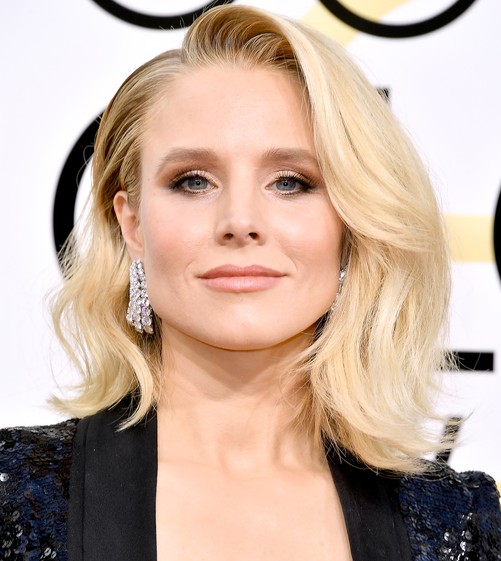 Kristen Bell attends the 74th Annual Golden Globe Awards.