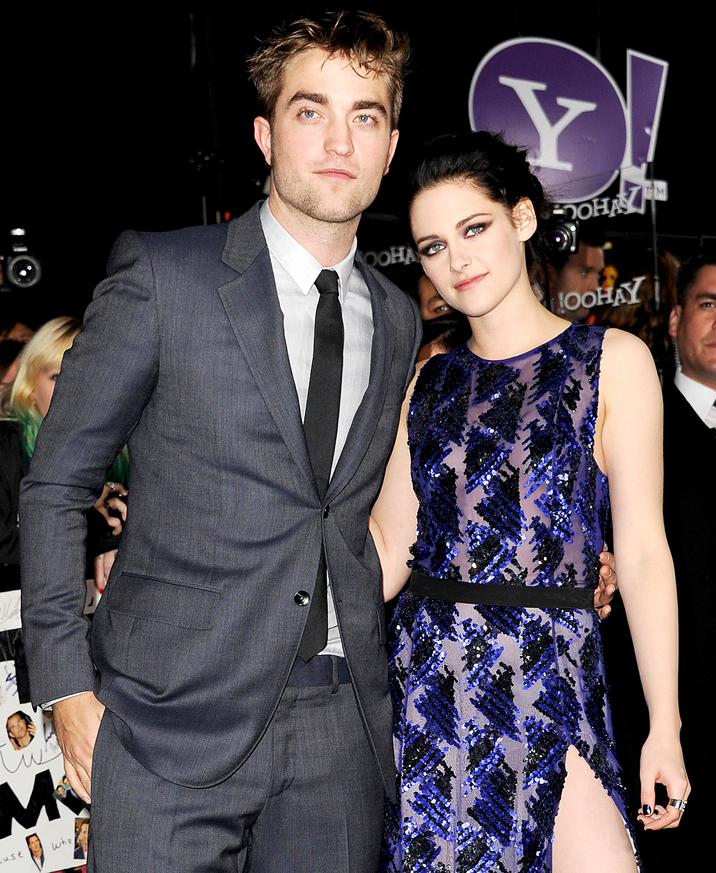 Who was robert pattinson hookup before kristen