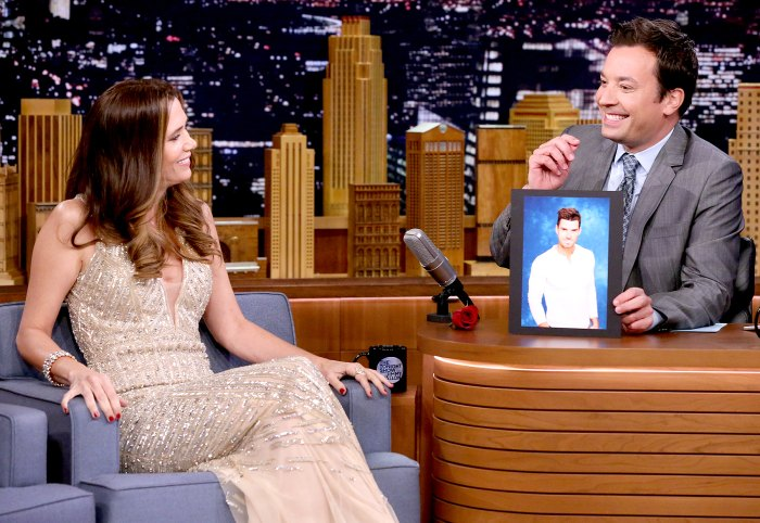 Kristen Wiig during an interview with host Jimmy Fallon on July 13, 2016.