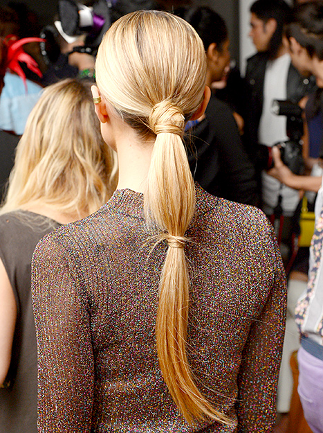 Kristin Cavallari - NYFW (hair detail)