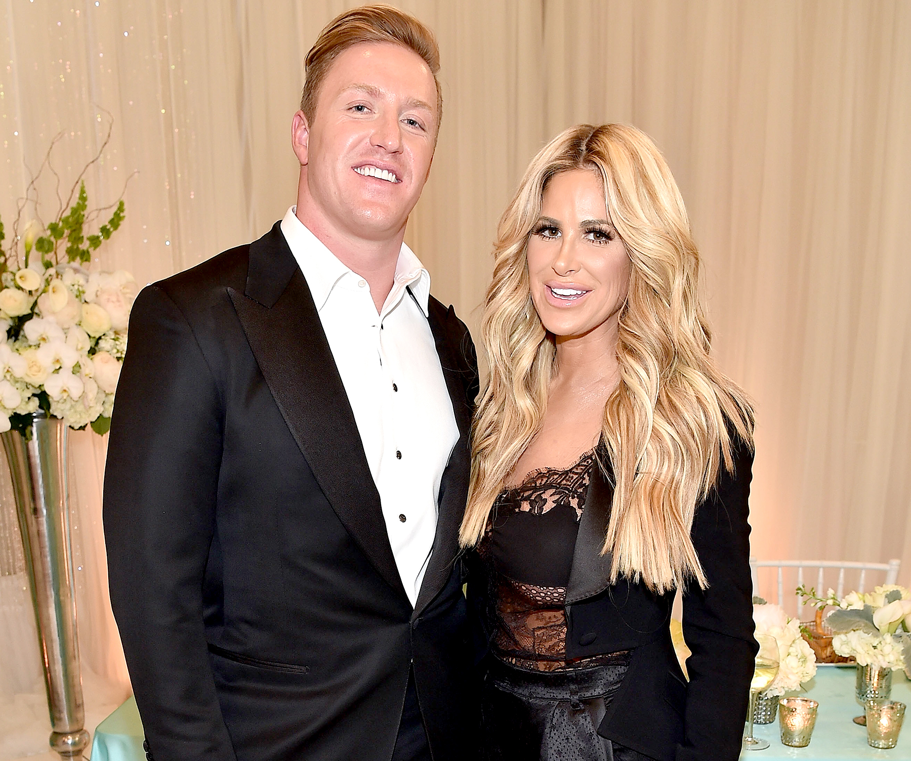 Kroy Biermann and Kim Zolciak Biermann attend Kim Zolciak's Birthday Party on May 6, 2016 in Atlanta, Georgia.