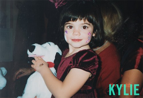 Kylie Jenner throwback pic