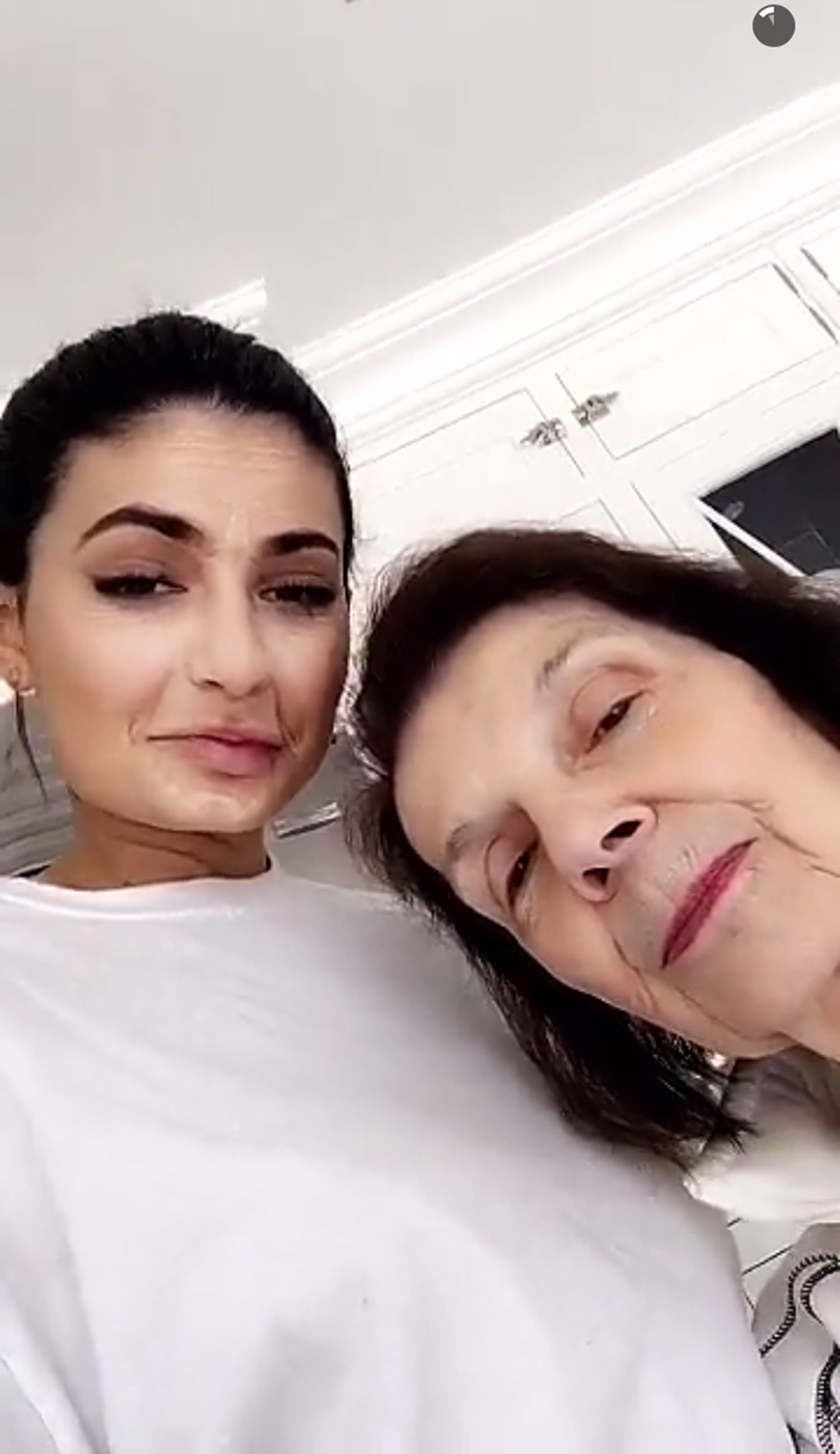 Kylie Jenner and Mary Jo Campbell