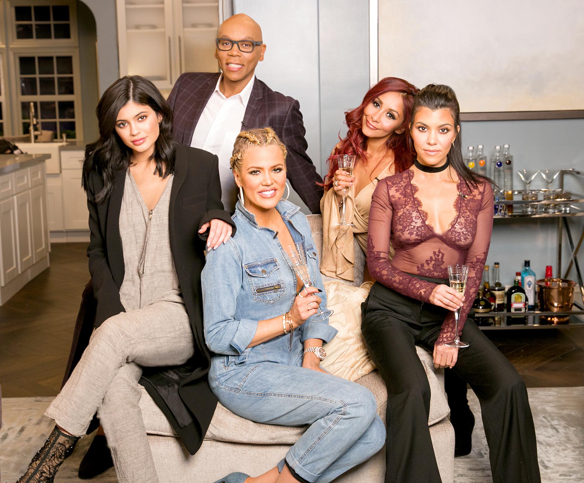 Kylie Jenner, RuPaul, Khloe Kardashian, Snooki and Kourtney Kardashian
