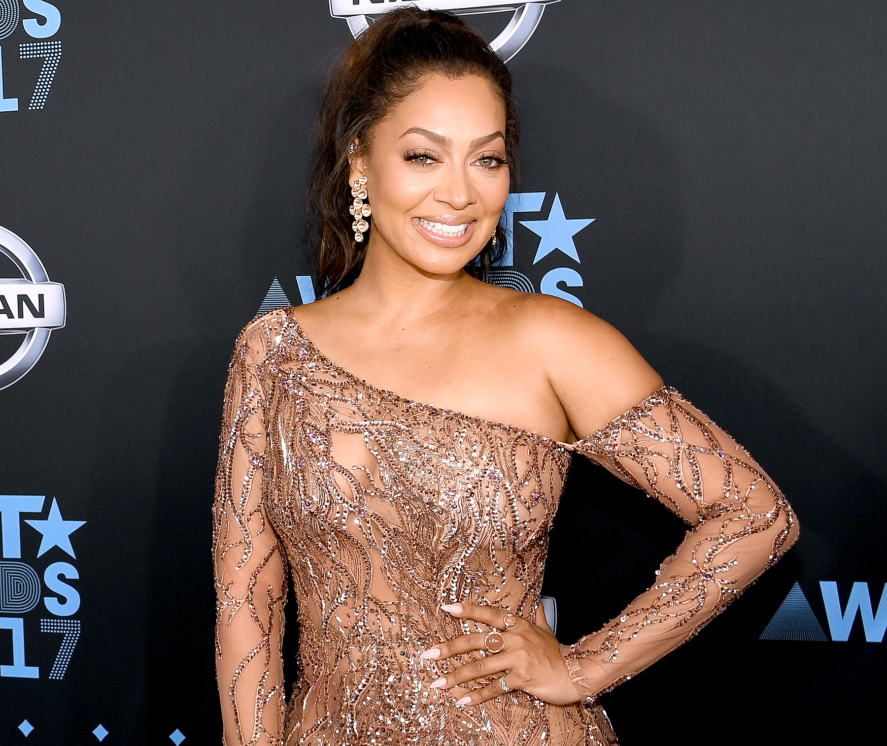 La La Anthony at the 2017 BET Awards at Staples Center on June 25, 2017 in Los Angeles, California.