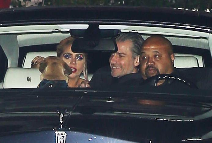 Lady Gaga Christian Carino Grammys 2017