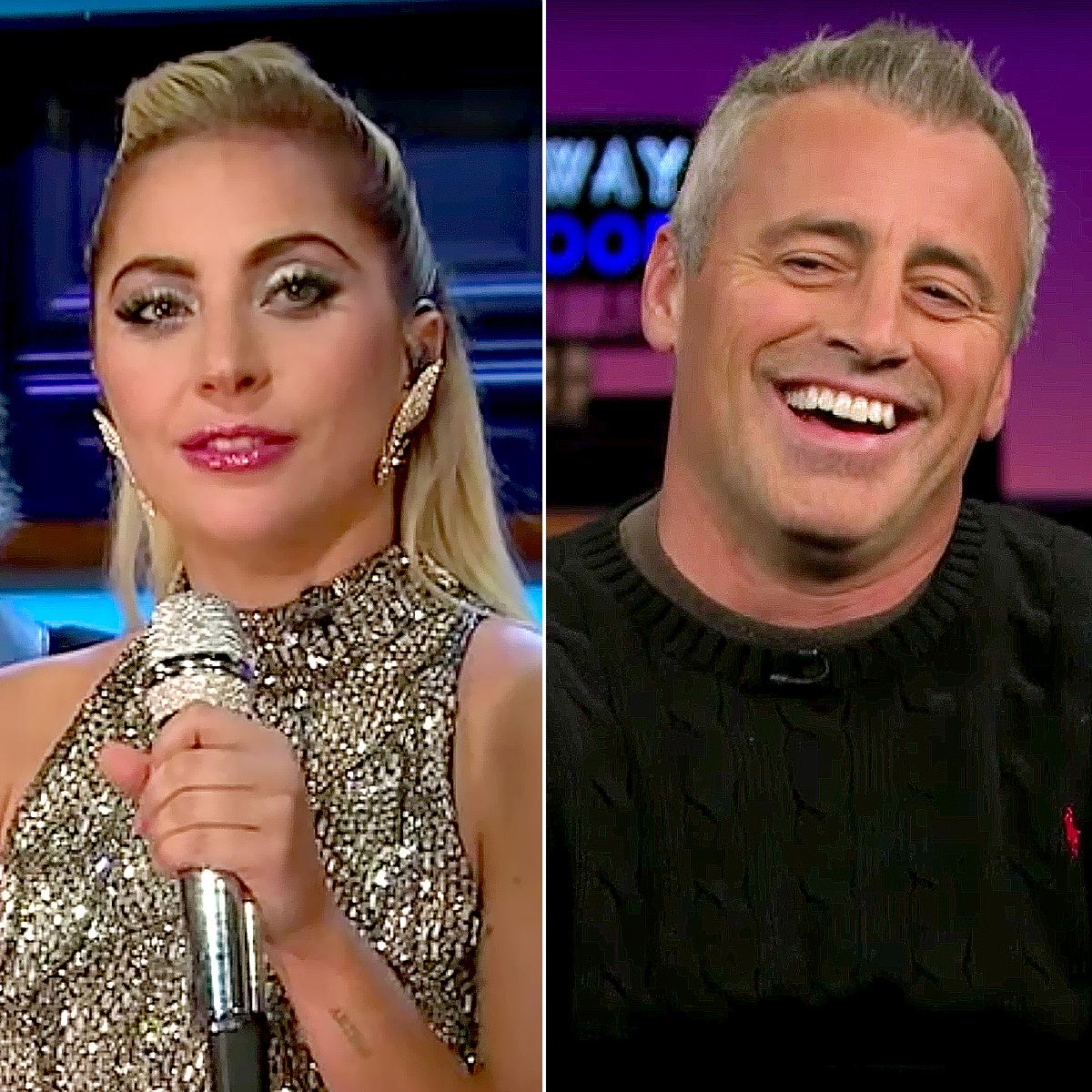 Lady Gaga and Matt LeBlanc