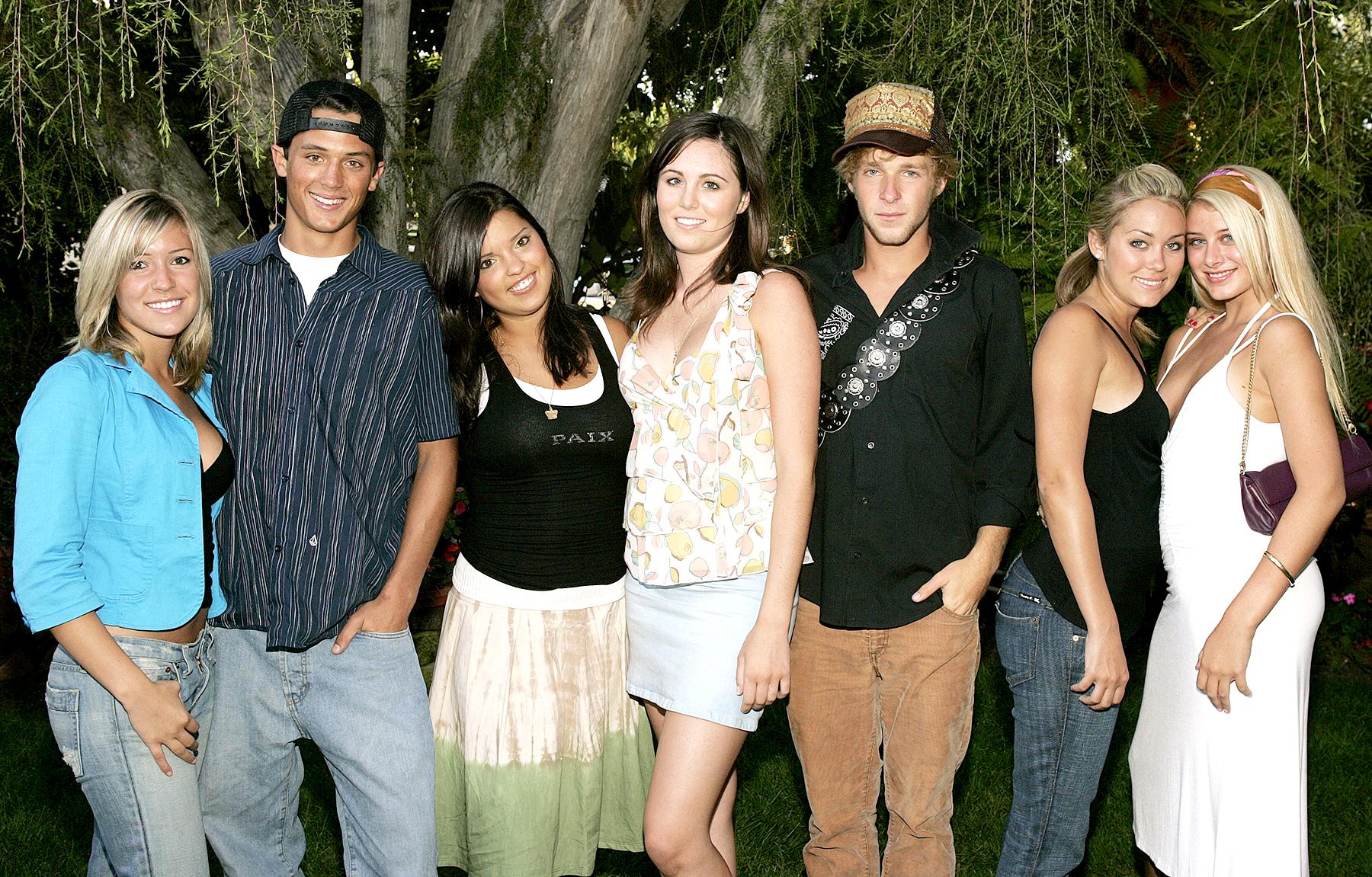 Kristin Cavallari, Stephen Colletti, Lauren Conrad and castmembers of MTV's