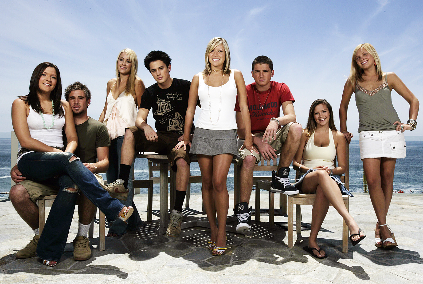 The cast of Laguna Beach