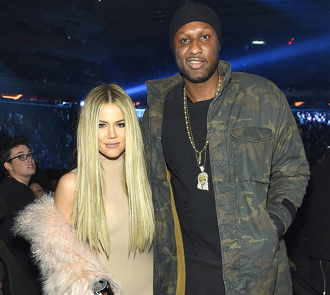 Khloé Kardashian & Lamar Odom