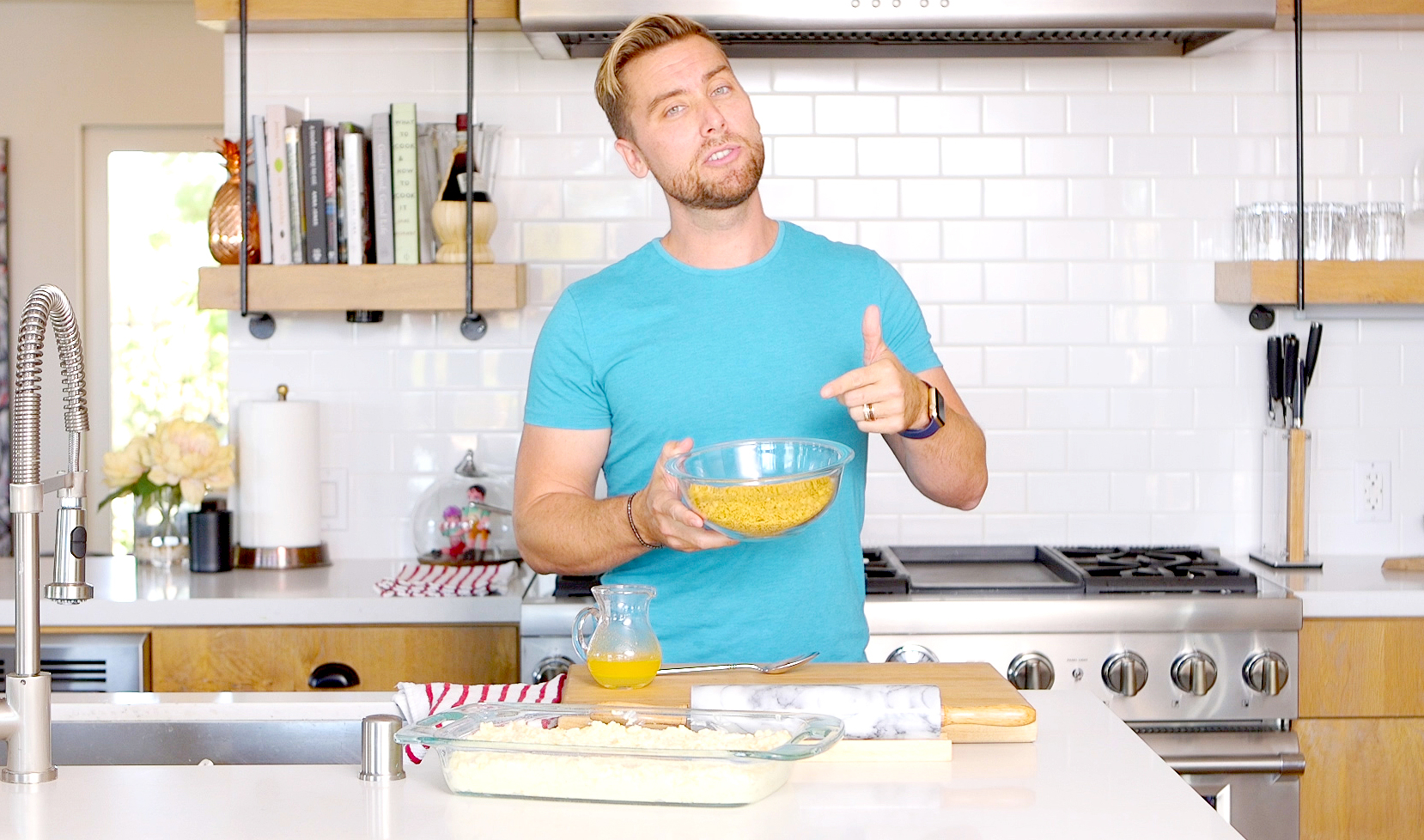 Lance Bass\' Tater Casserole Recipe: How To Make