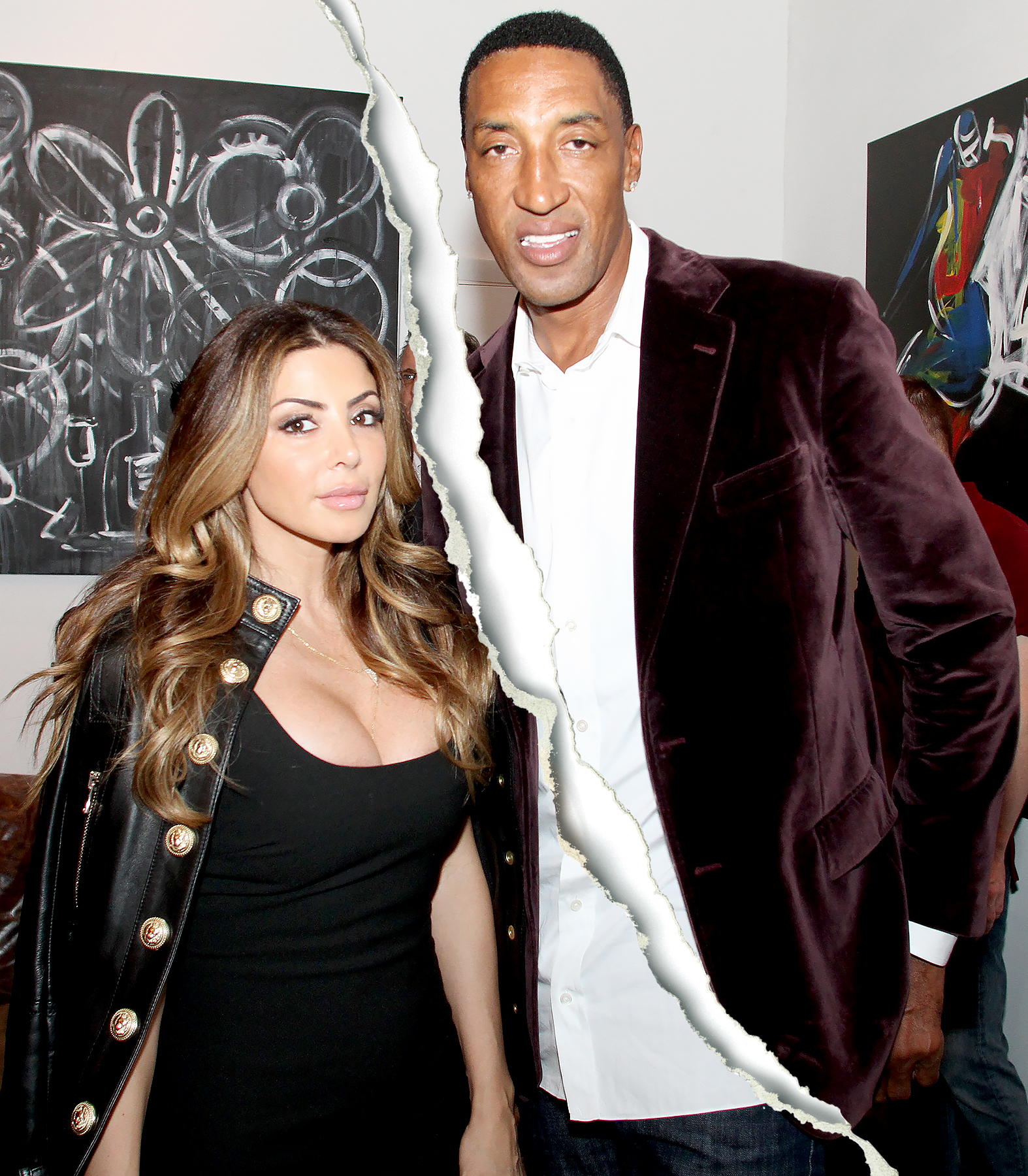 Larsa and Scottie Pippen attend Haute Living And Zacapa Rum Present Domingo Zapata At Lulu Laboratorium at Lulu Laboratorium on December 2, 2015 in Miami, Florida.
