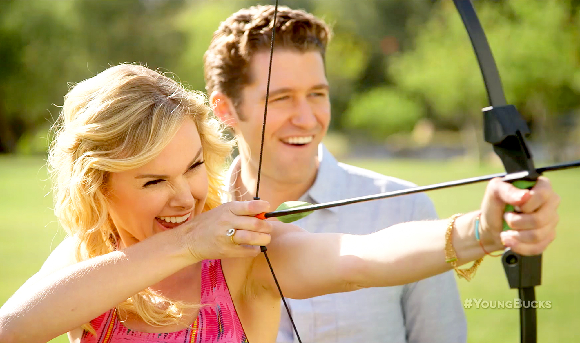 Laura Bell Bundy and Matthew Morrison