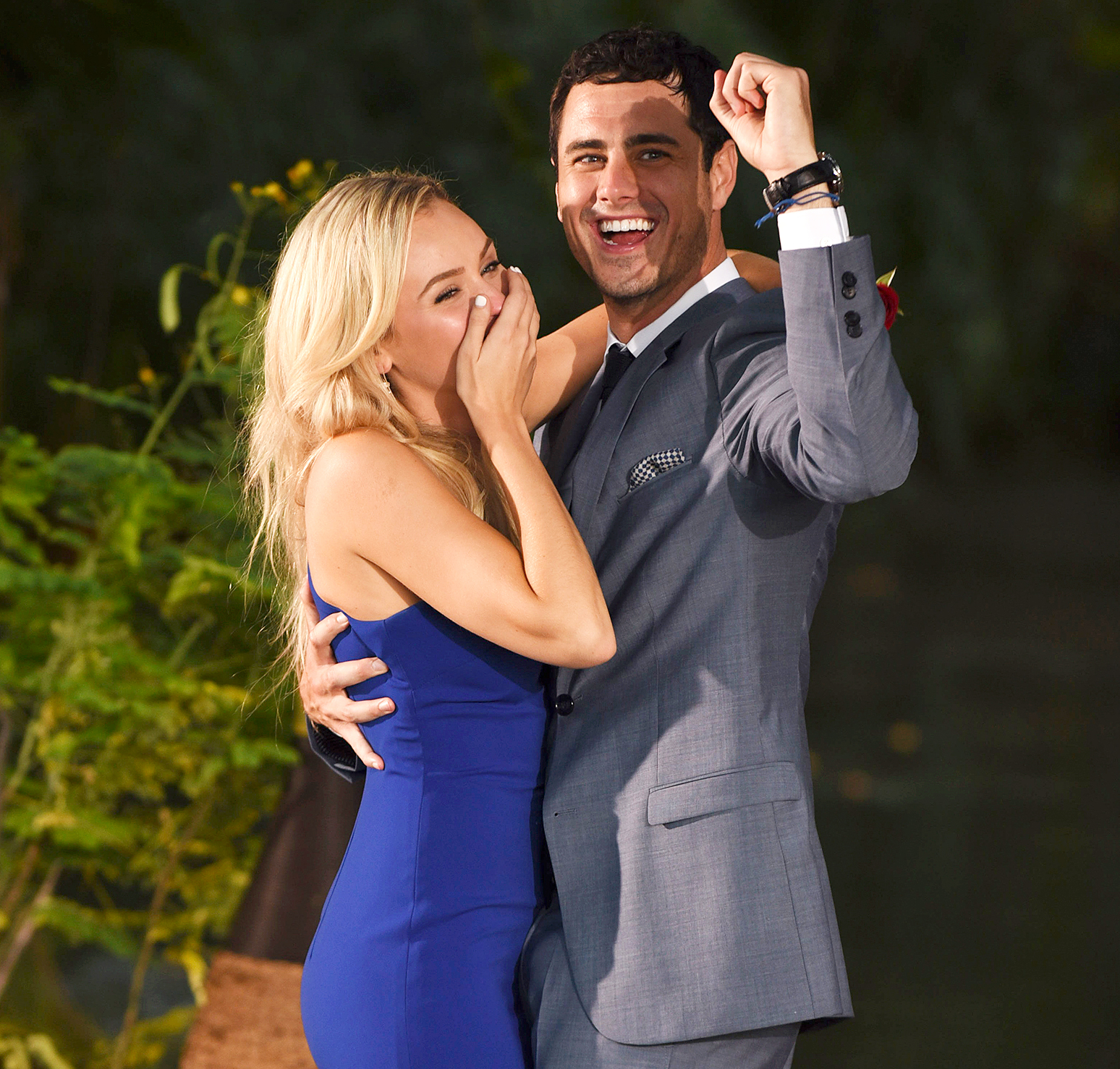 Lauren Bushnell and Ben Higgins on 'The Bachelor' finale