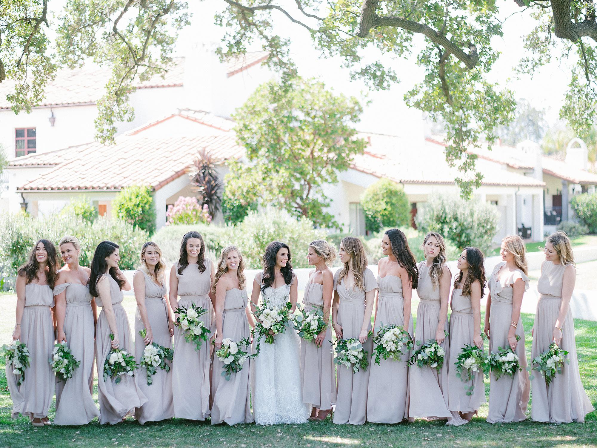 Lauren Conrad, Lo Bosworth, Paper Crown, bridesmaid, wedding