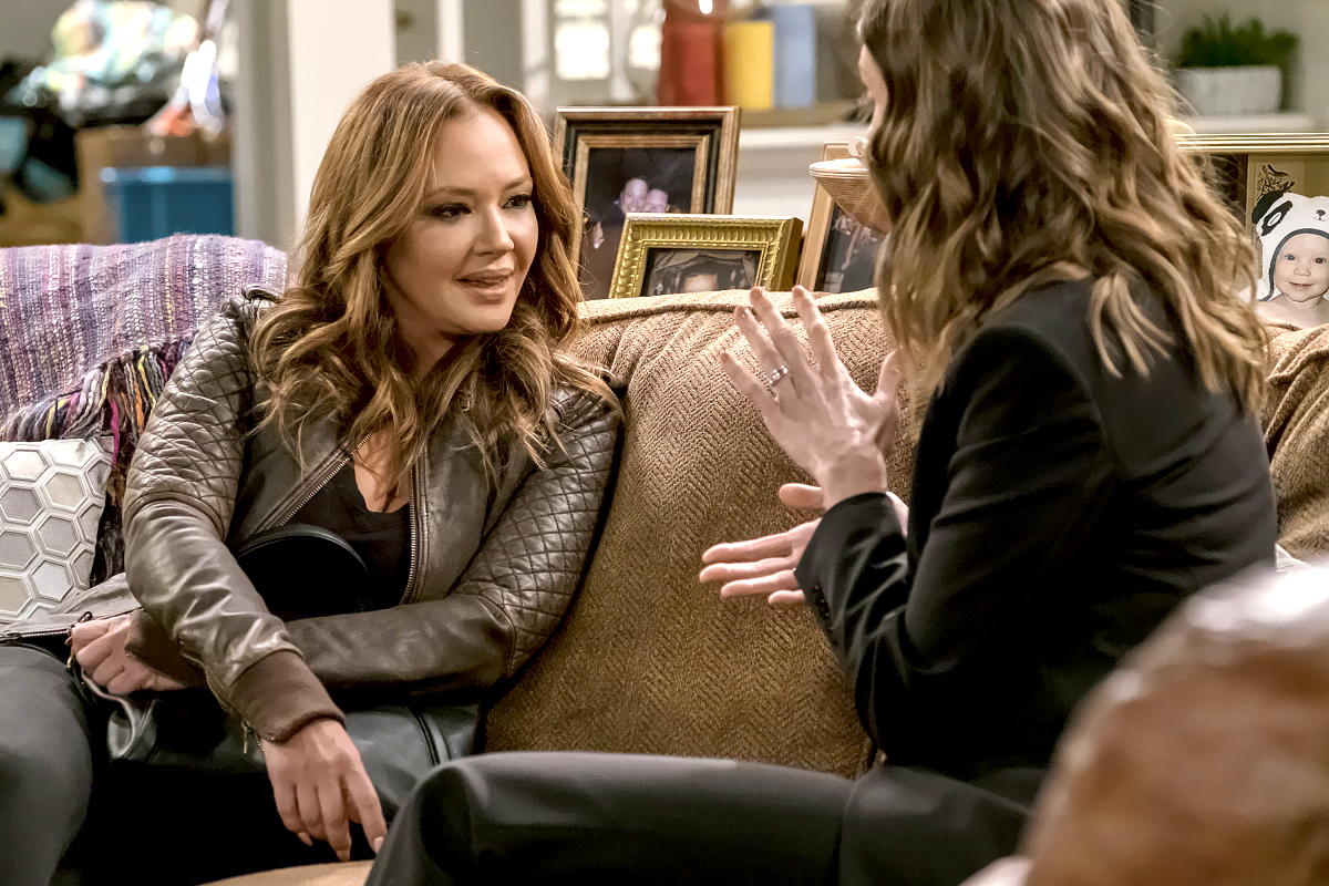 Leah Remini and Erinn Hayes on Kevin Can Wait.