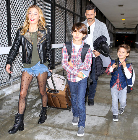 eddie leann and kids