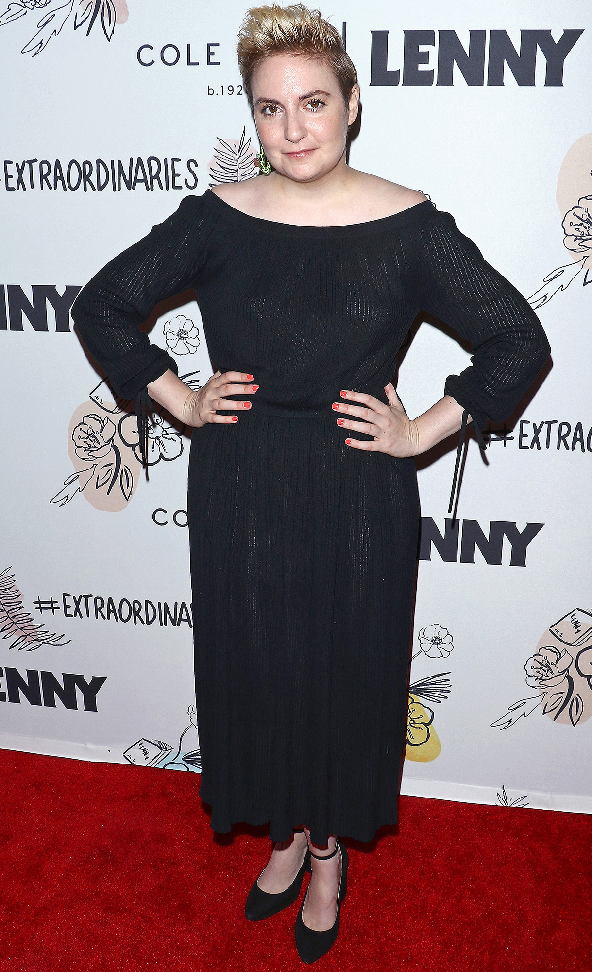 Lena Dunham, 2nd Anniversary Party for Lenny, Cole Haan
