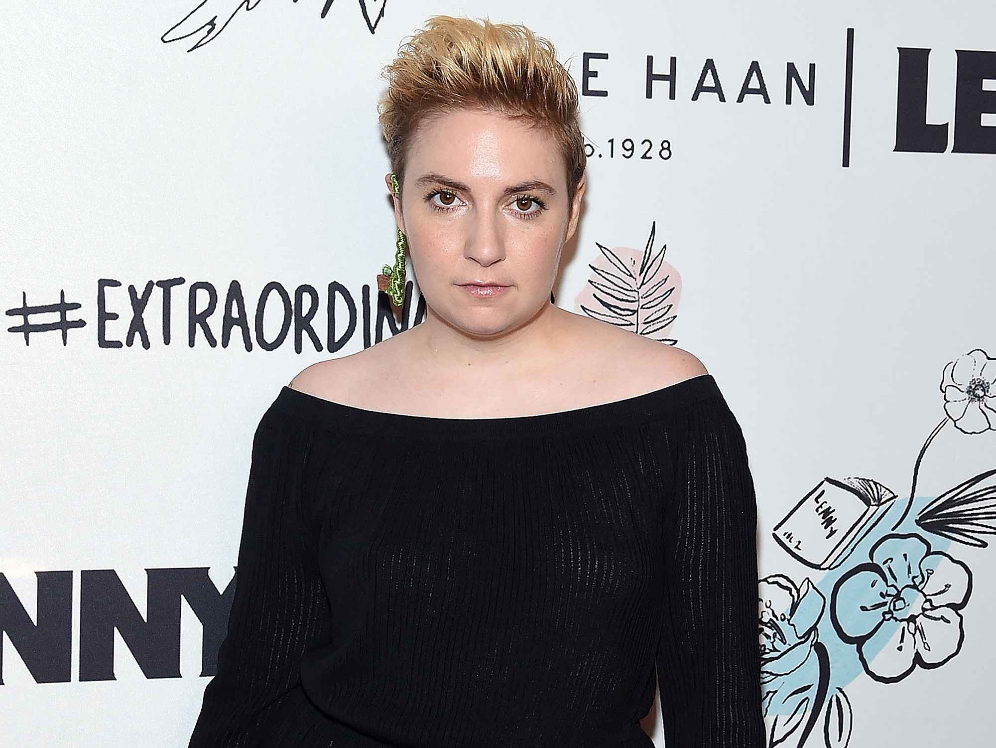 Lena Dunham, Lenny 2nd Anniversary Party