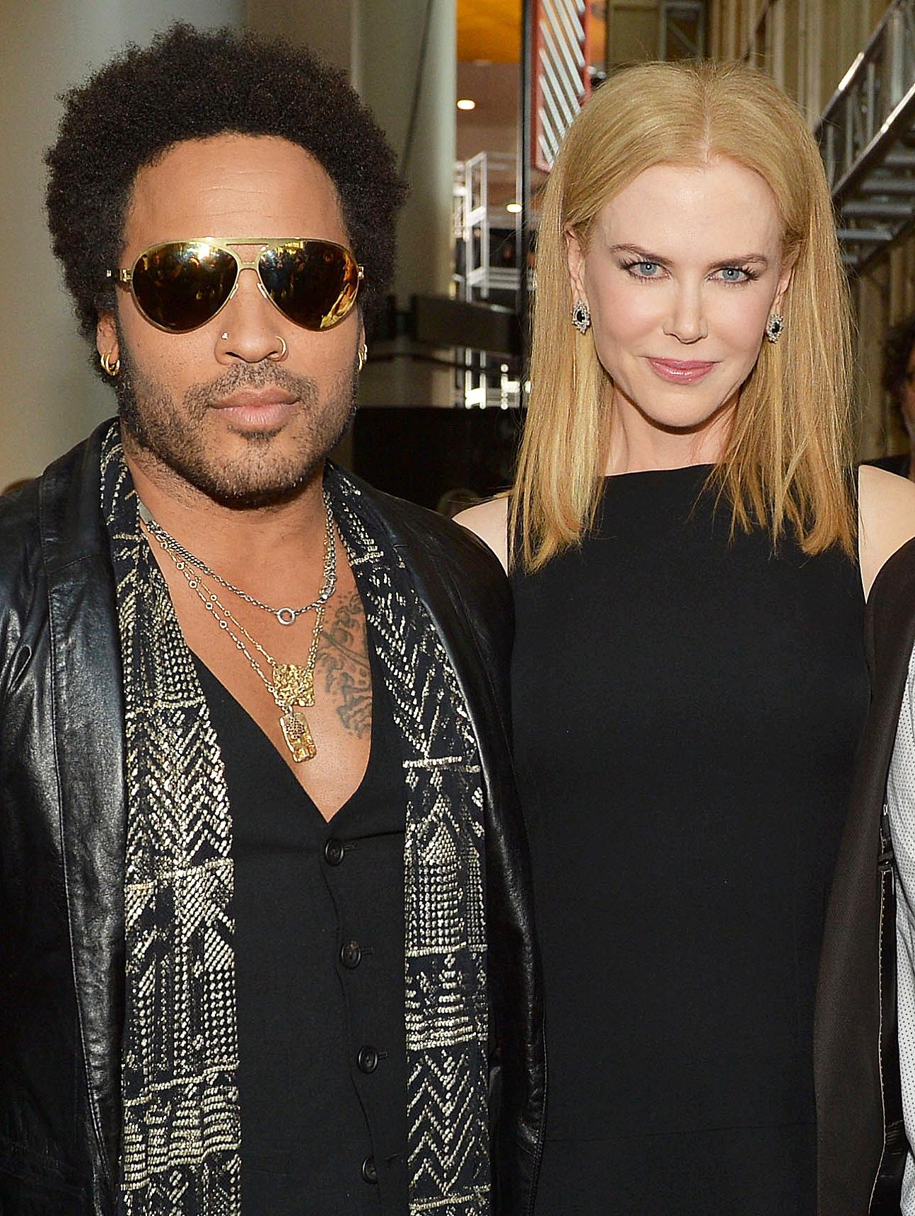 Lenny Kravitz Nicole Kidman