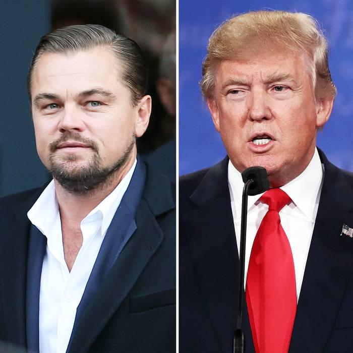 Leonardo DiCaprio Donald Trump