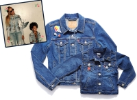 Beyonce & Blue Ivy in matching denim jackets
