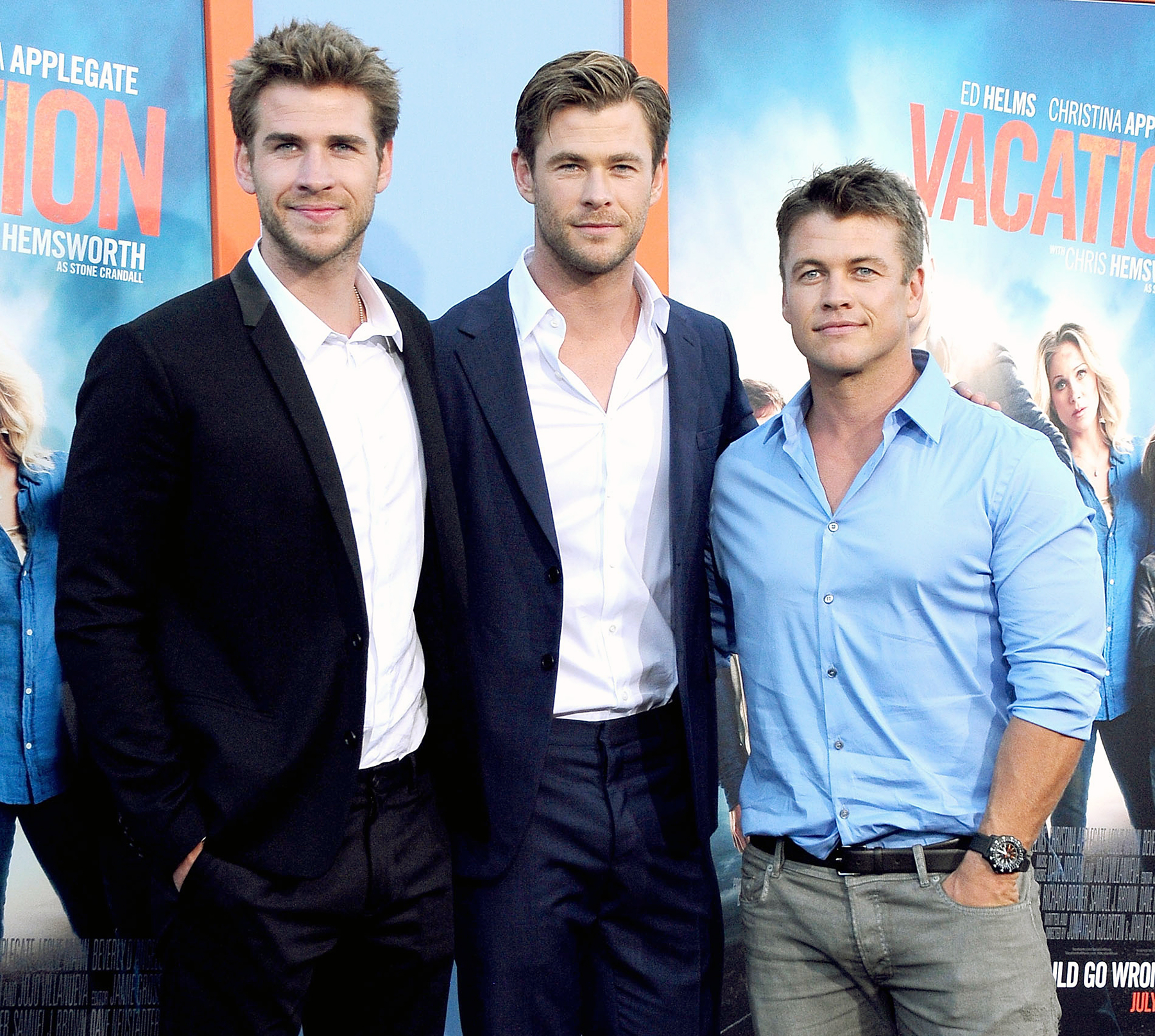 Luke Hemsworth Has a 'Healthy Rivalry' With Brothers Liam ...