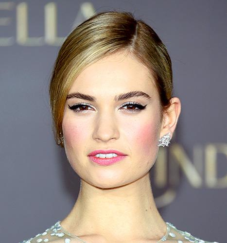 Lily James - Cinderella premiere (beauty shot)