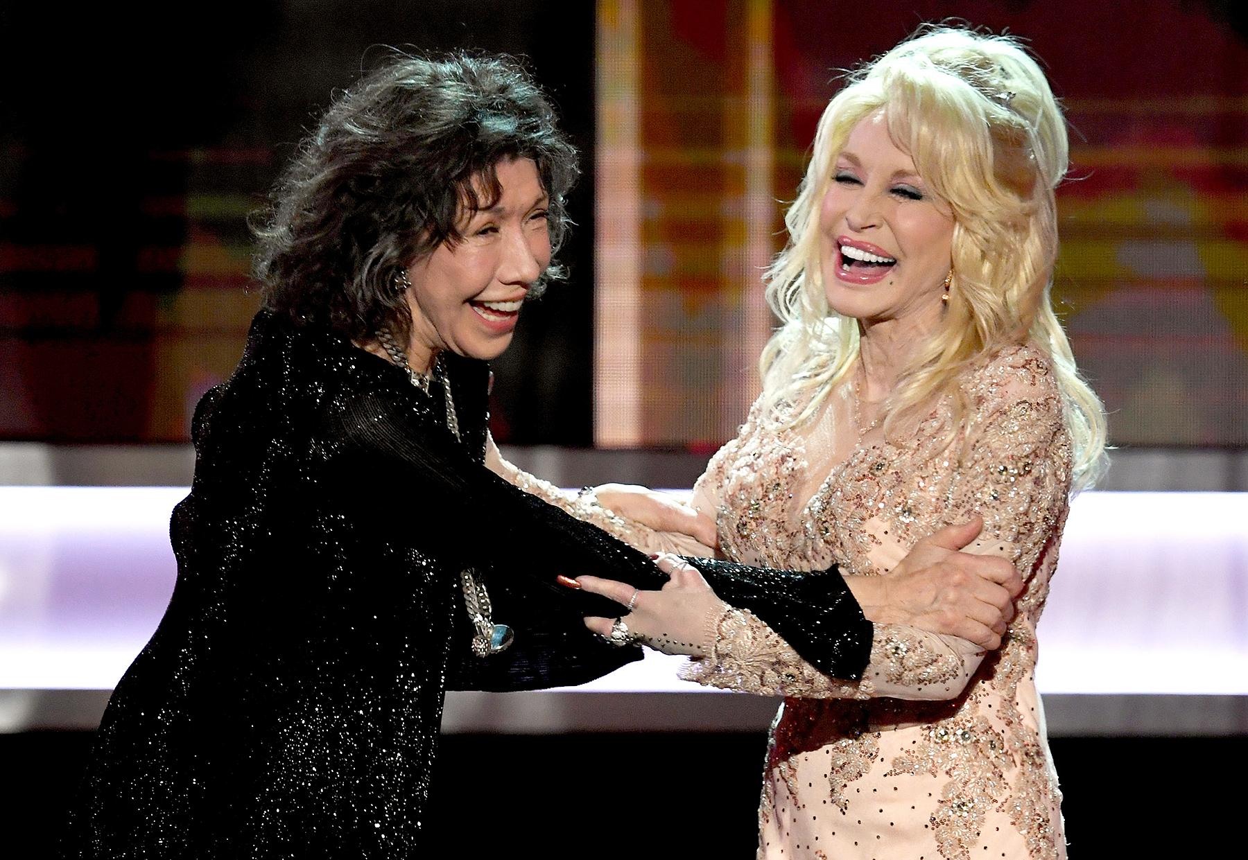 Lily Tomlin Dolly Parton SAG Awards