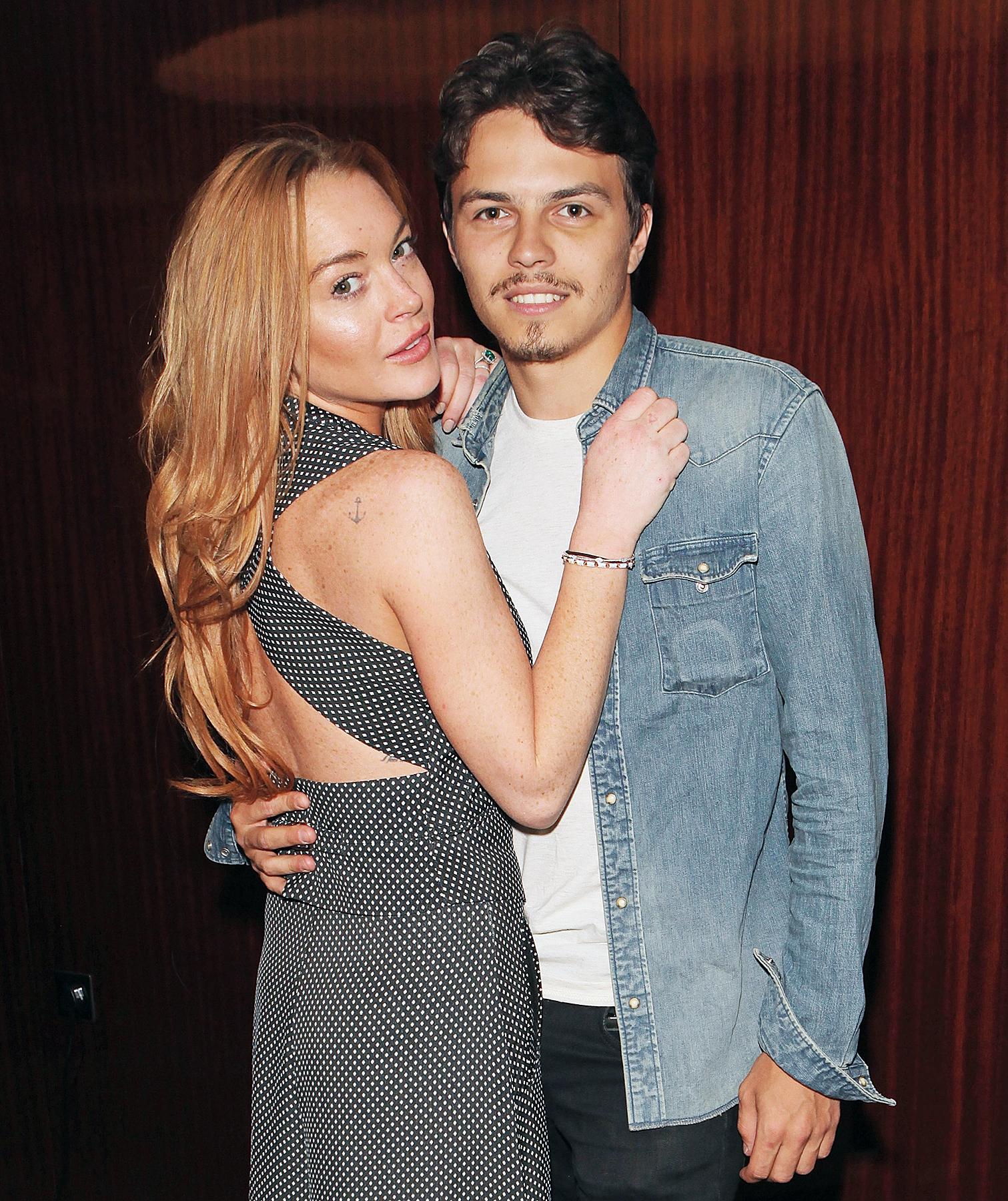 Lindsay Lohan Egor Tarabosov