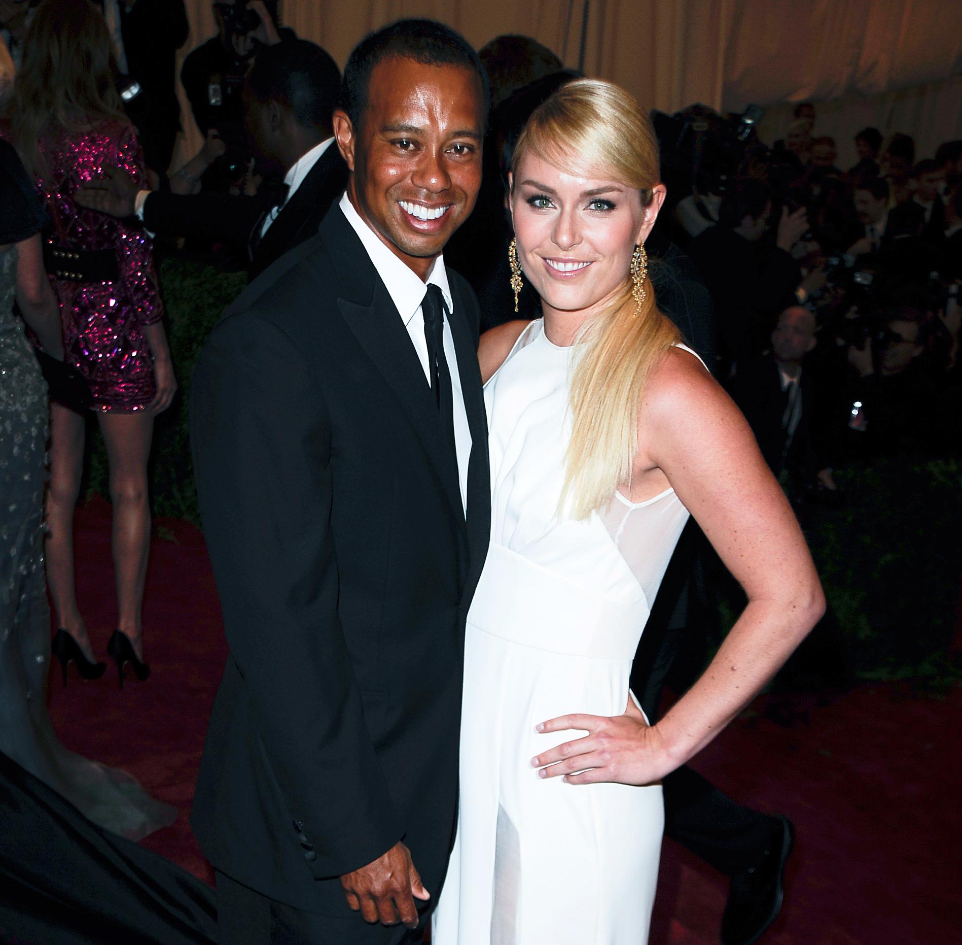 Lindsey vonn dating tiger