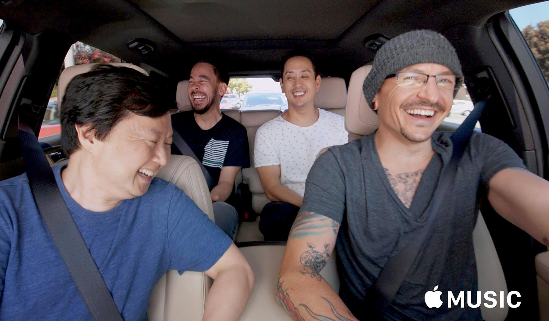 Linkin Park on Carpool Karaoke