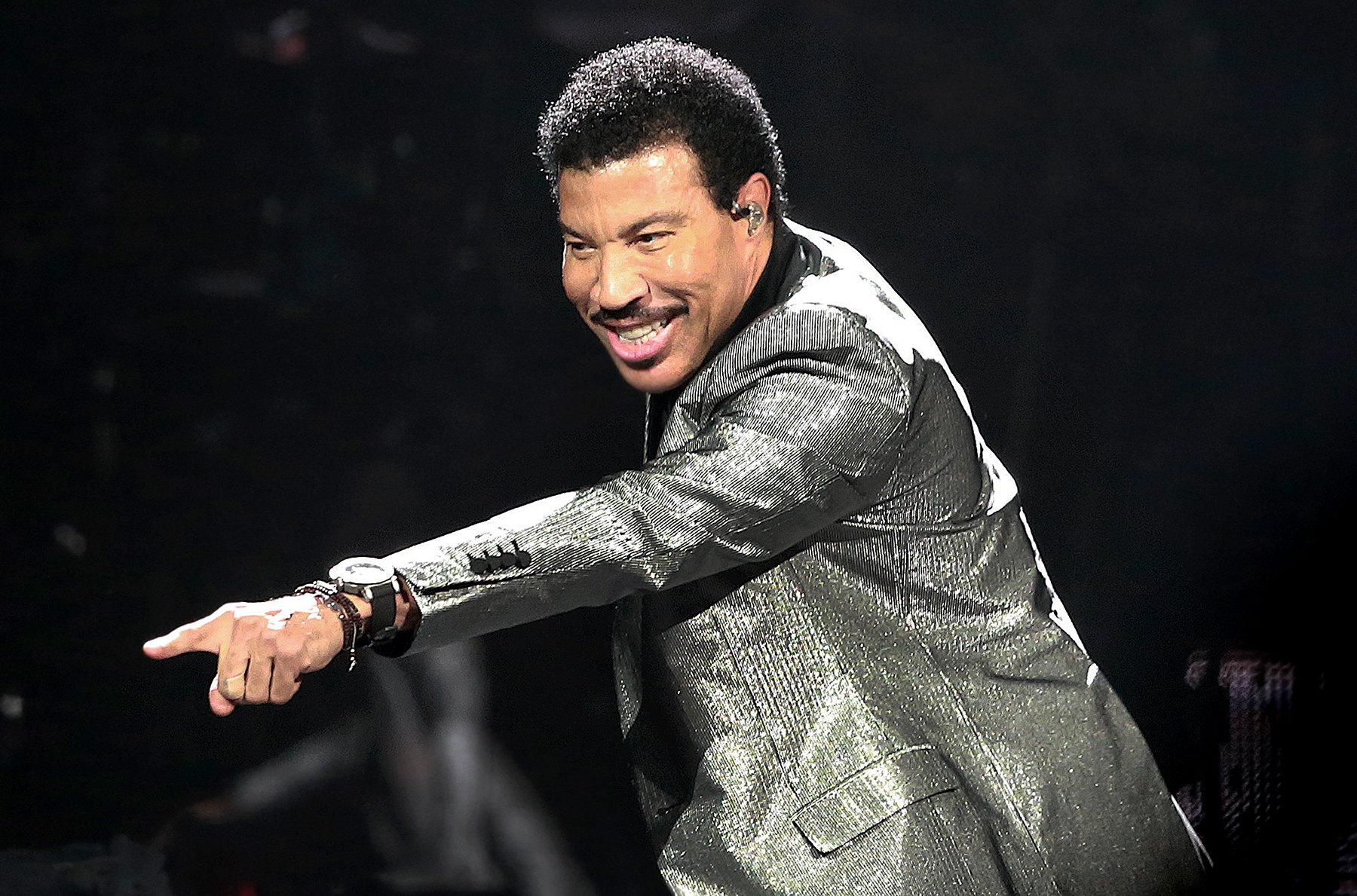 Lionel Richie performs at TD Garden in Boston on Aug. 22, 2017.